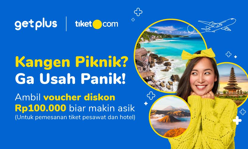 Udah Kangen Piknik? Saatnya Ambil Bonus Voucher Diskon Rp100.000 dari tiket.com