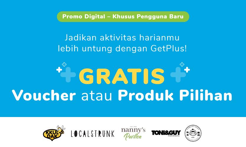 Promo Digital Member Baru GetPlus