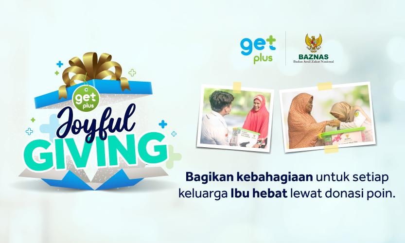 GetPlus Joyful Giving
