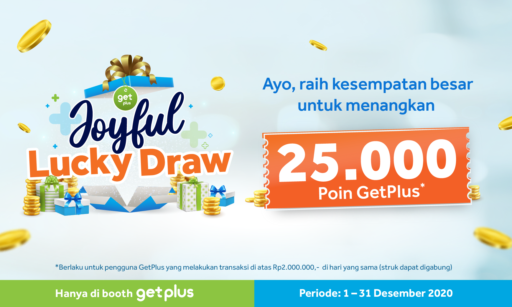 GetPlus Joyful Lucky Draw