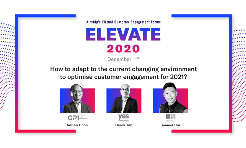 Airship's Virtual Customer Engagement Forum Elevate 2020