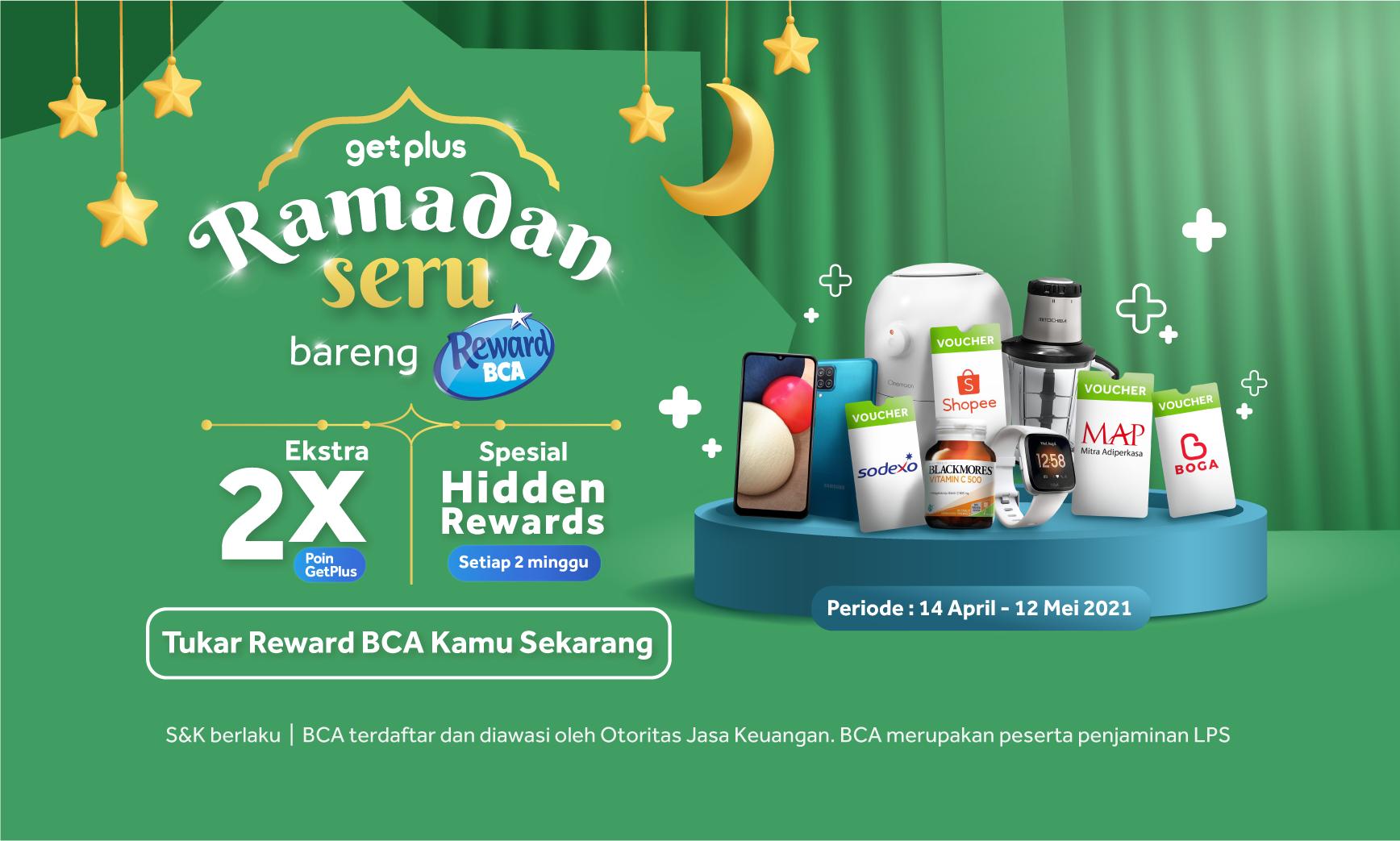 Ramadan Seru Bareng Reward BCA