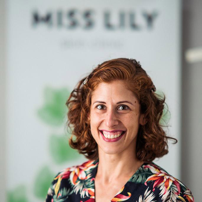 Leilah Colley, owner miss lily wellness centre