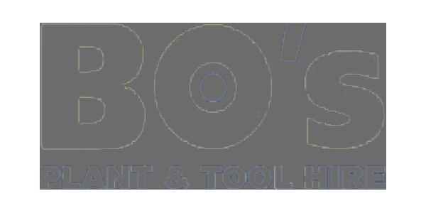 BO's Plant & Tool Hire logo