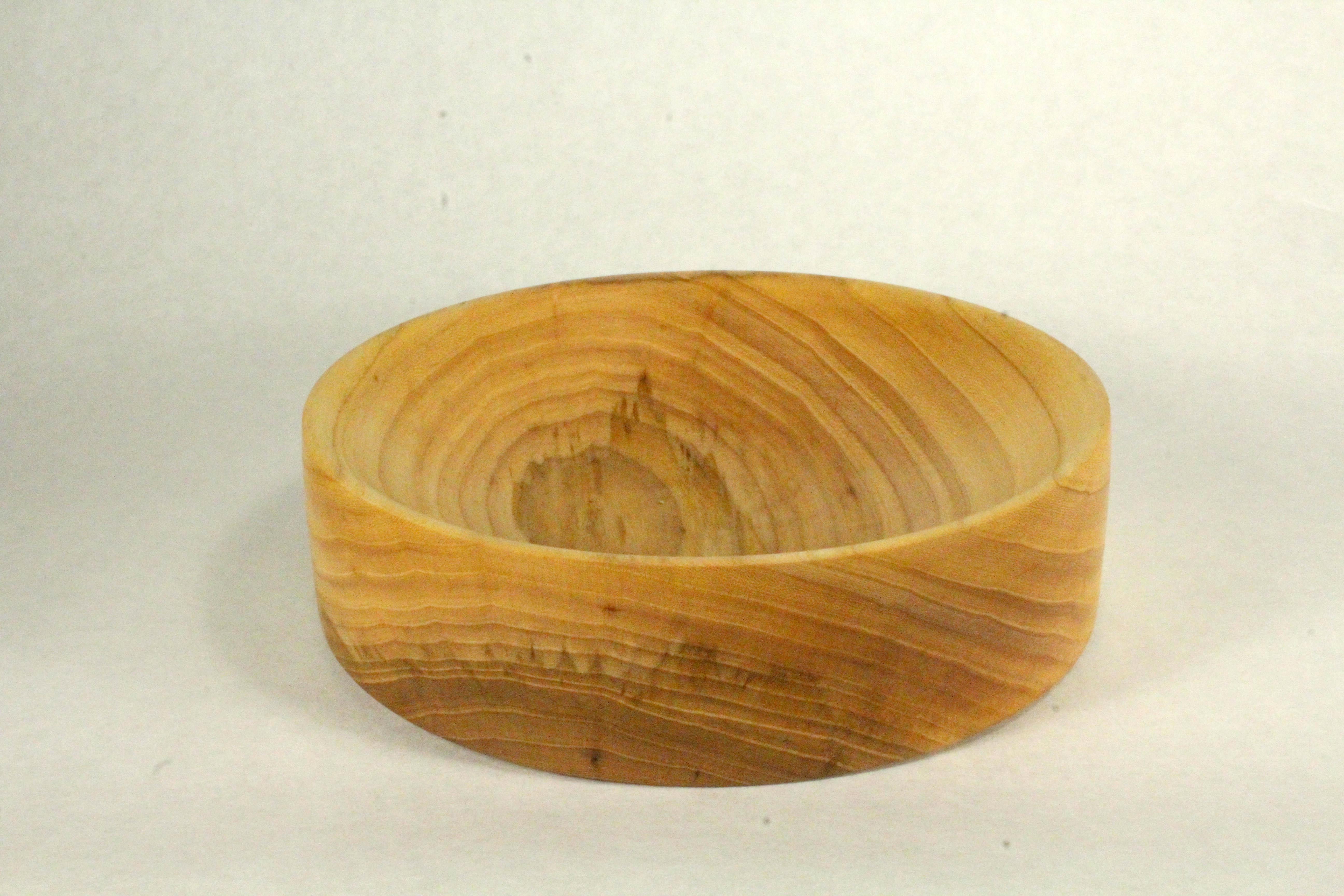 Elm Blank Bowl