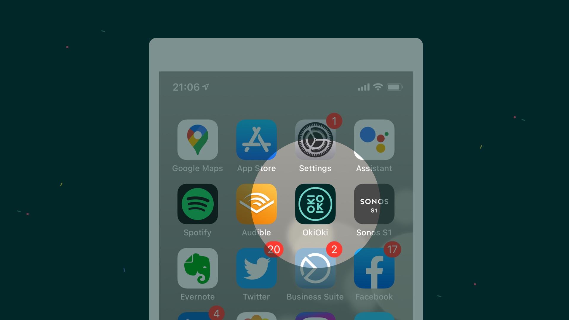 Hoe de OkiOki app aan het startscherm van je Apple of Android toestel toevoegen