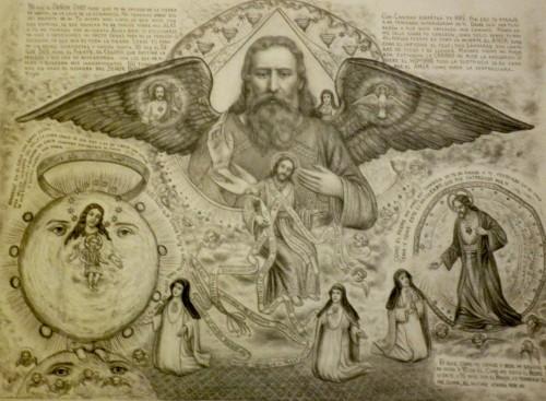 cuadro de visiones de maria de los angeles sorazu