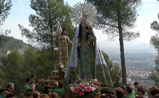 procesion de ns de la rogativa y jesus