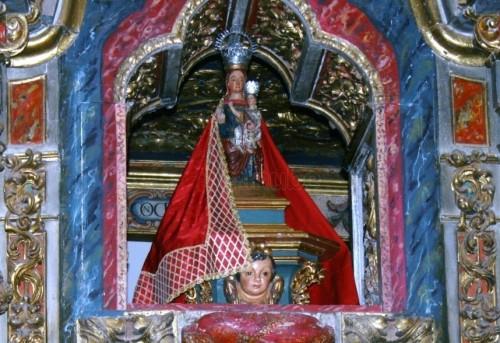 virgen de la hoz en la ermita