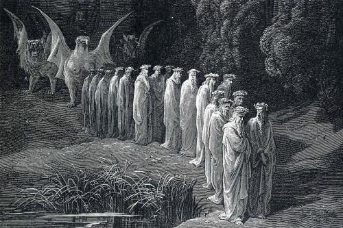 Resultado de imagen de Las discusiones serias comenzaron a propósito del purgatorio