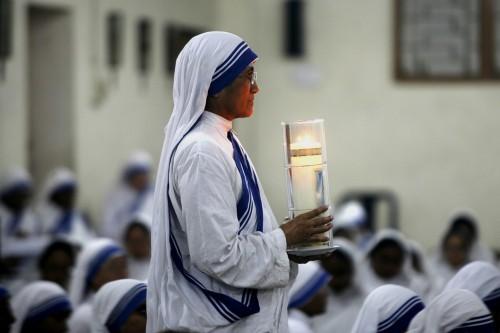 monjas de las hermanas de la caridad de la madre teresa de calcuta