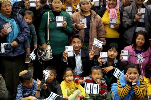 Supuestos Descendientes de la Tribu de Manases llgan a Israel