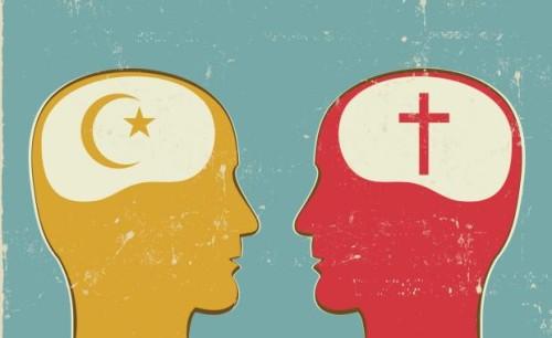 cabezas islam y cristianismo
