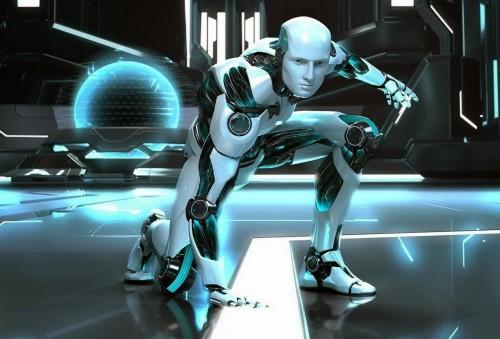 robot fondo