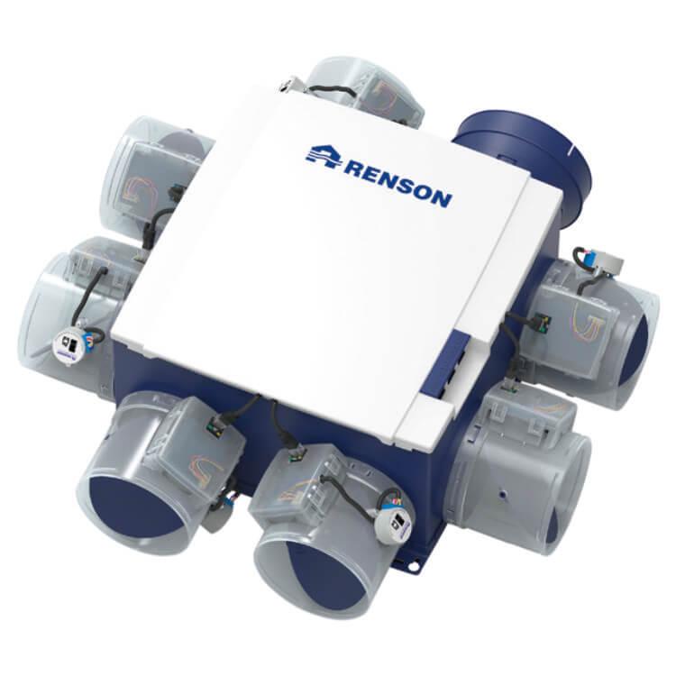 Renson Healthbox 3.0 fan unit – ventilācijas sistēma