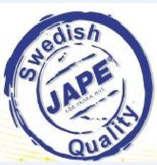 JAPE Zviedru kvalitāte