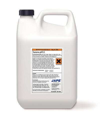 Jape Sanera Grovrent pH12 5L