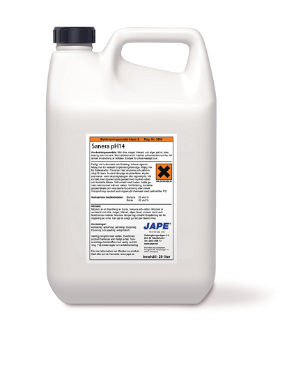 Jape Sanera Grovrent pH14 5L