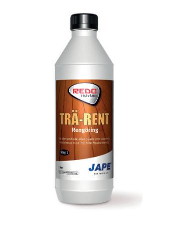 Jape REDO TRÄ-RENT Attīrīšana 1L (1. solis)