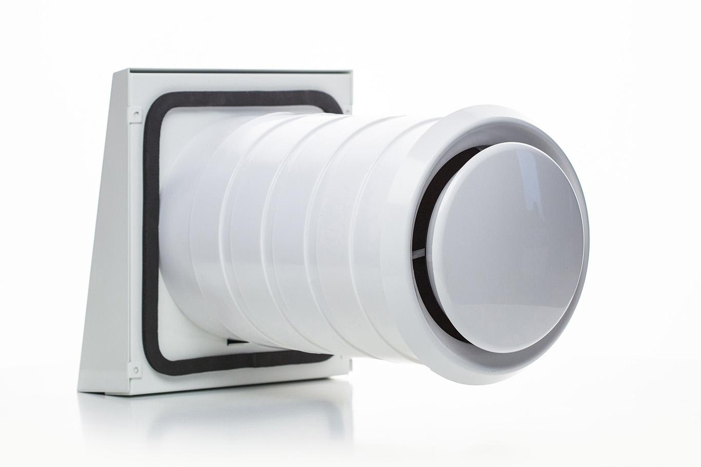 Ventoxx Comfort rekuperators impulsa vadība keramiskais siltuma akumulators 300mm