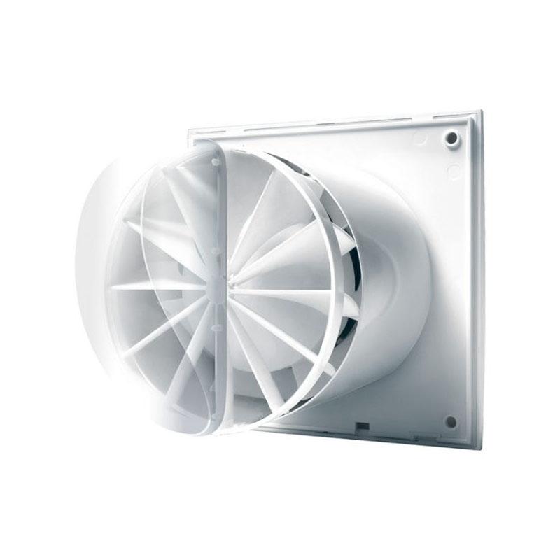 Europlast EEV sienā pie ventilatora