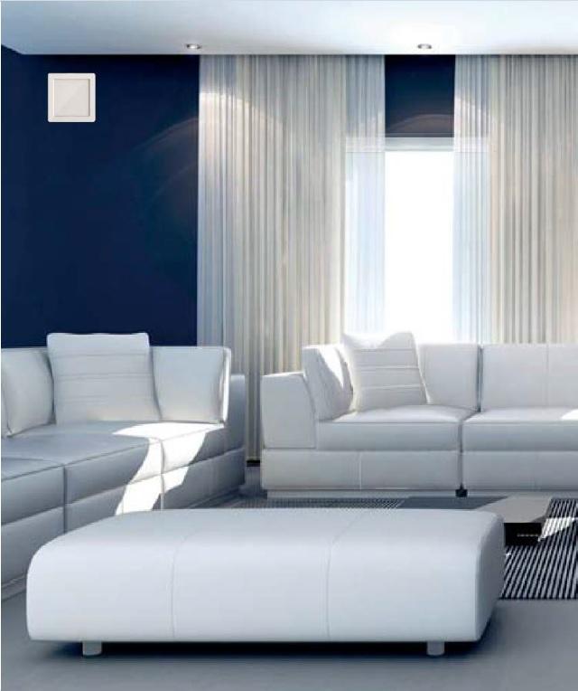 Siegenia Aerotube WRG smart istabas siena