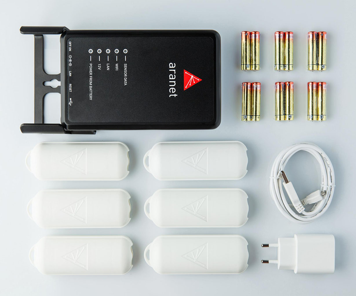 Aranet PRO bāzes stacija 12 sensoriem