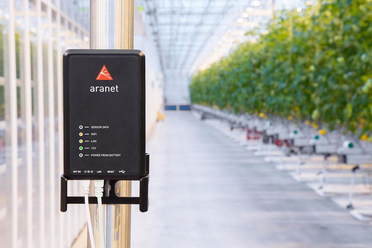 Aranet PRO produkts bāzes stacija siltumnīcās