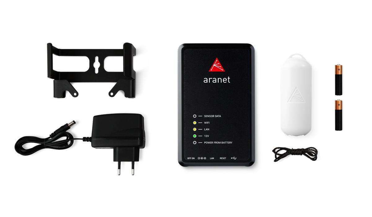 Aranet PRO bāzes stacija 50 sensoriem komplekts