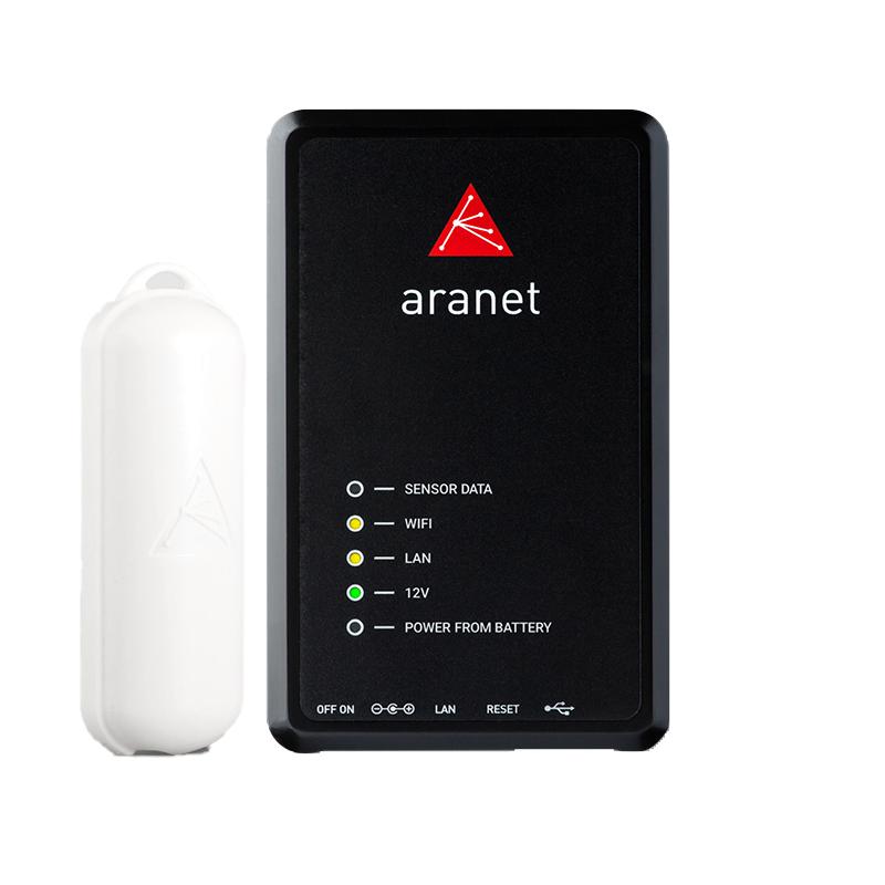 Aranet PRO bāzes stacija 12 ar Aranet T/RH sensoriem