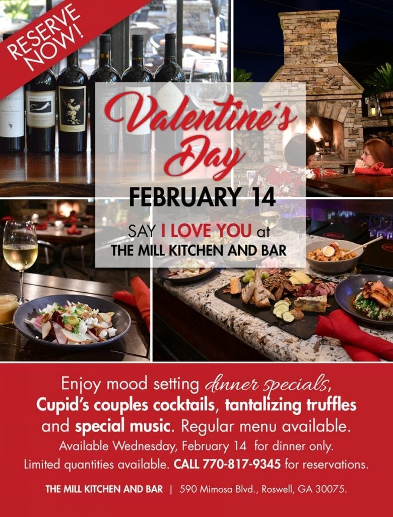 Valentines Day Dinner The Mill Kichen And Bar