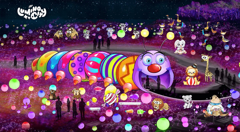 the-hungry-caterpillar-the-sweet-dream-light-arts-luminocity-festival