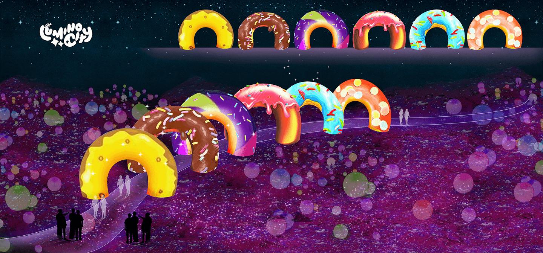 the-donut-tunnel-the-sweet-dream-light-arts-luminocity-festival-rendered-image