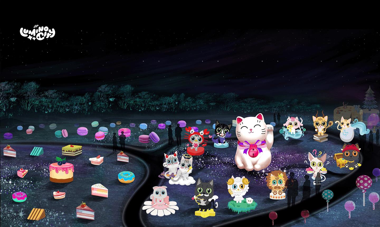 the-constellation-cats-light-arts-luminocity-festival-rendered-image