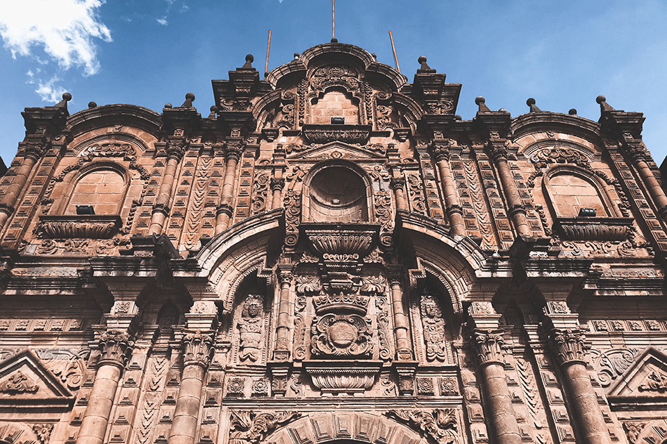 Cathedral — one of the three churches in Cusco's main square