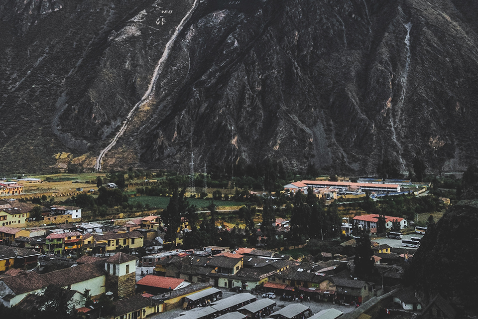 Ollantaytambo — the starting point of the Inca Trail