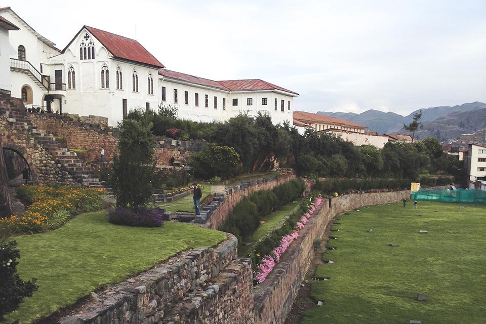 Qoricancha — The golden courtyard