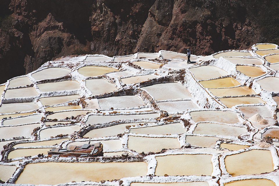 Maras — small town famous for its salt ponds