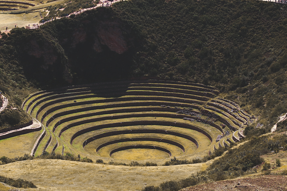 Moray — a series of concentric terraces