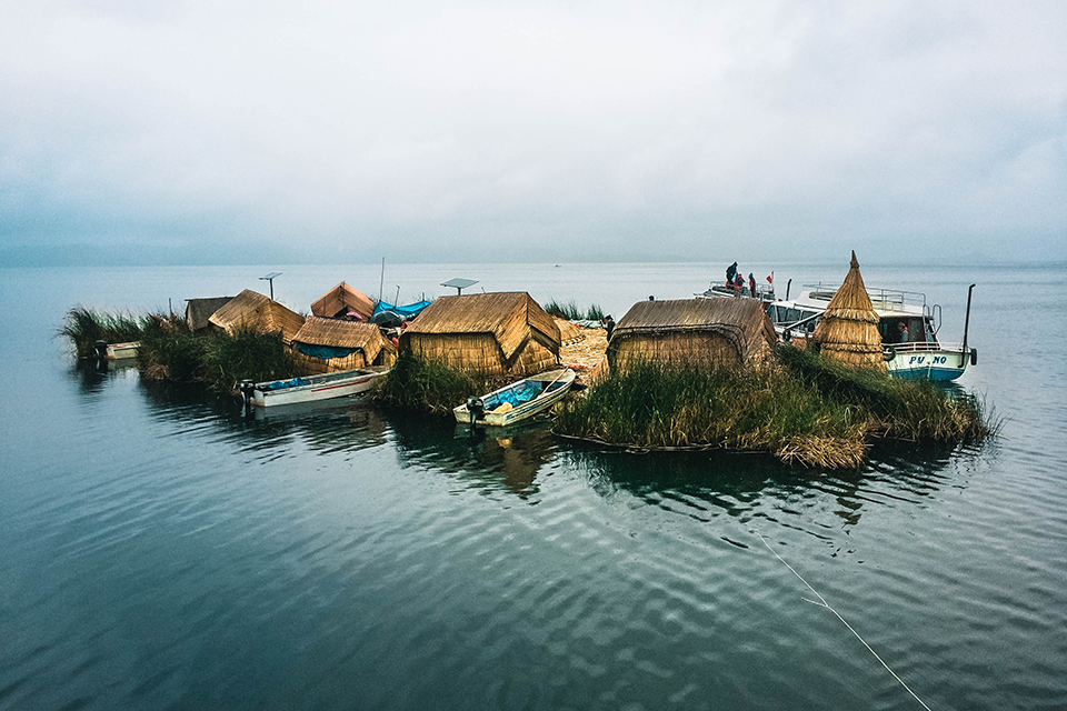 Lake Titicaca — the largest lake in South America