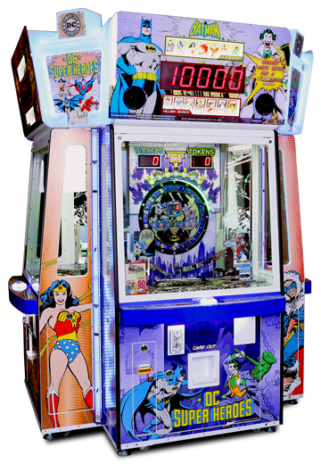 DC Superheroes Coin - Pusher
