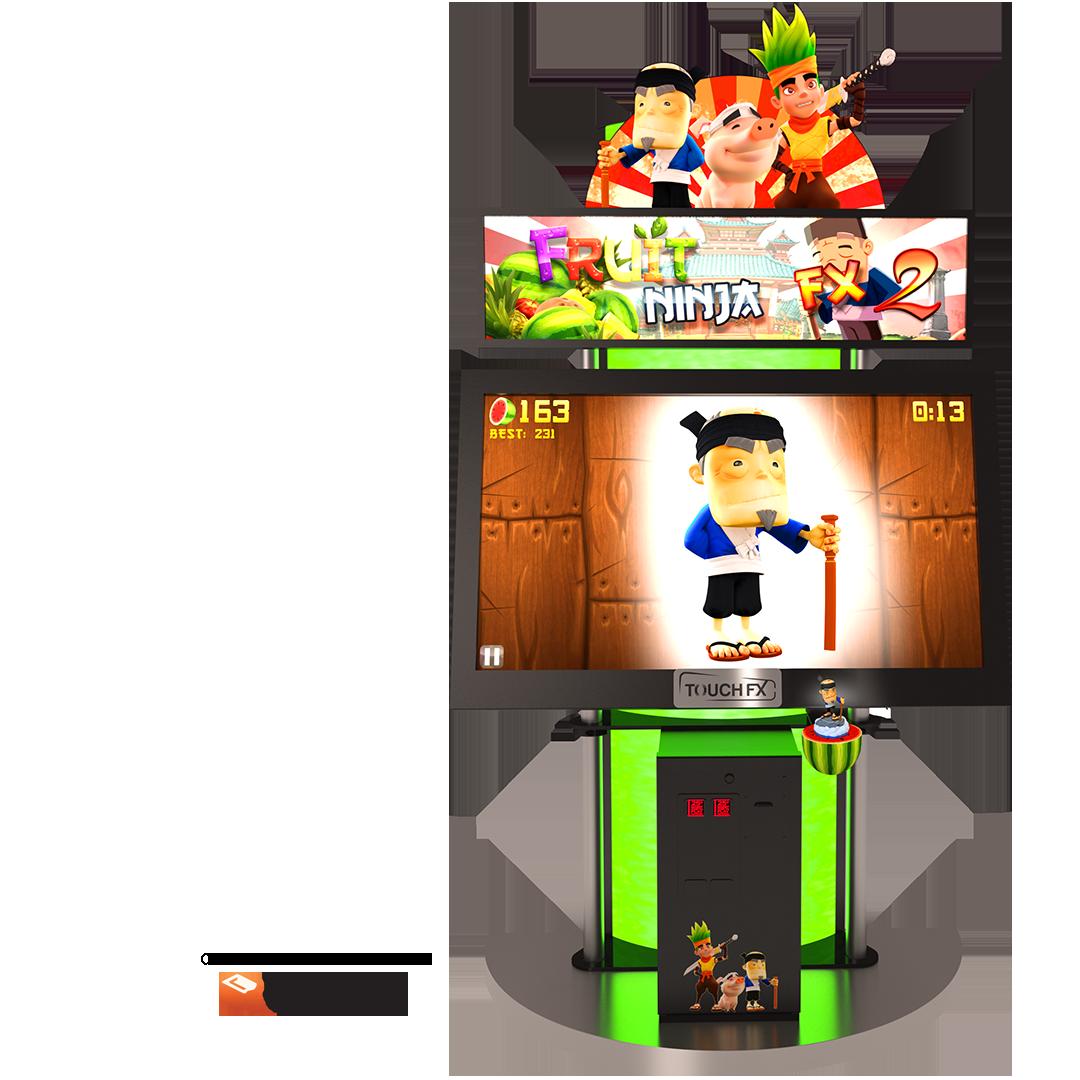 Fruit Ninja - 2 TFX 1 Screen