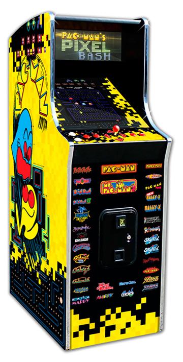 Pacman Pixel Bash Cabaret (Home)