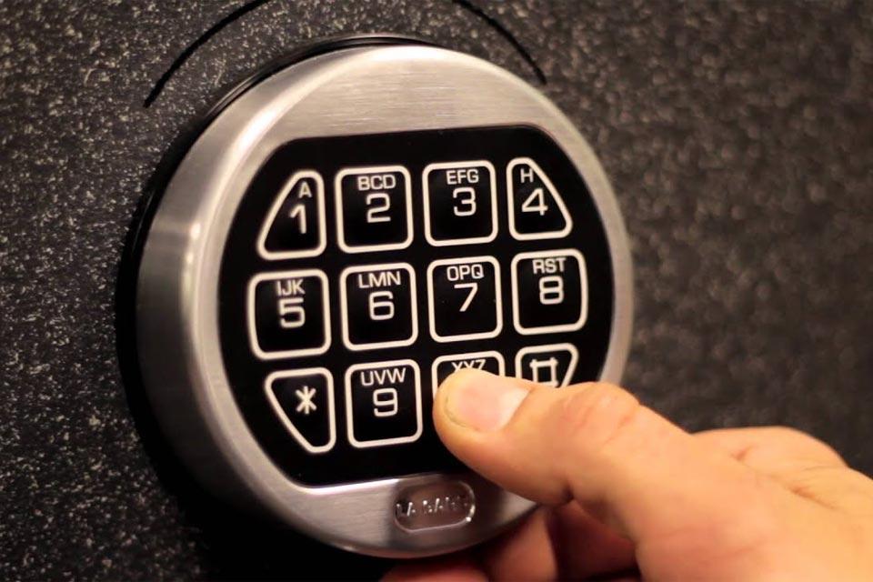 Combination Lock Install