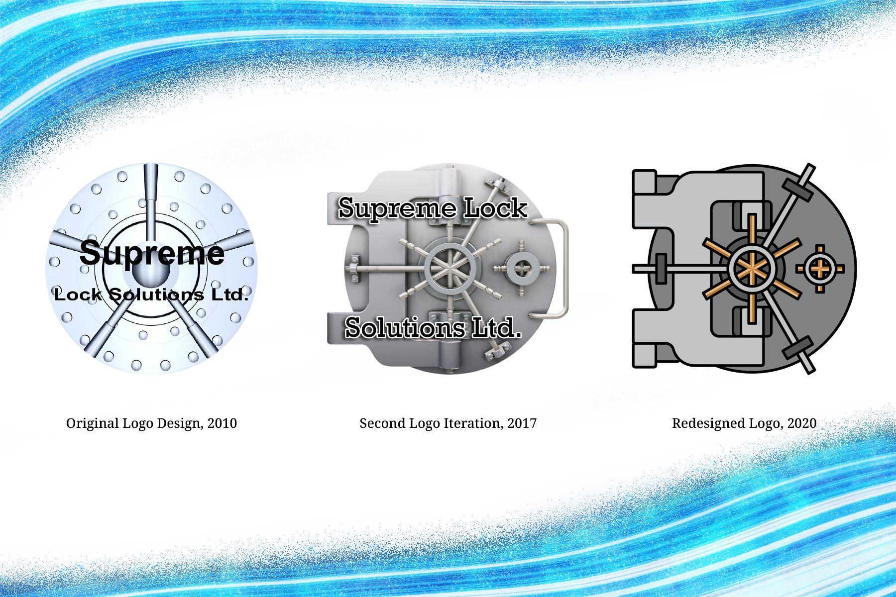Supreme Lock Logo Reveal