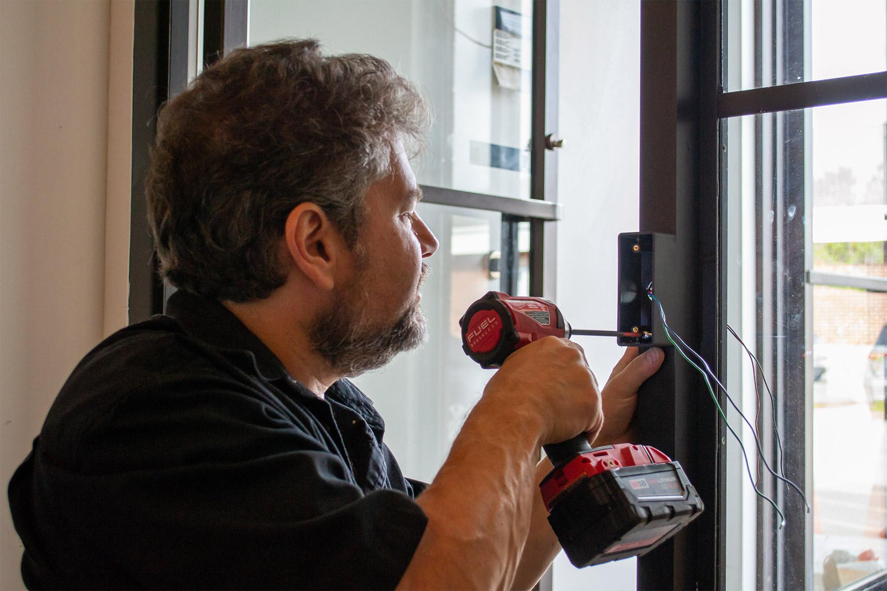 Supreme Lock Door Operator Install