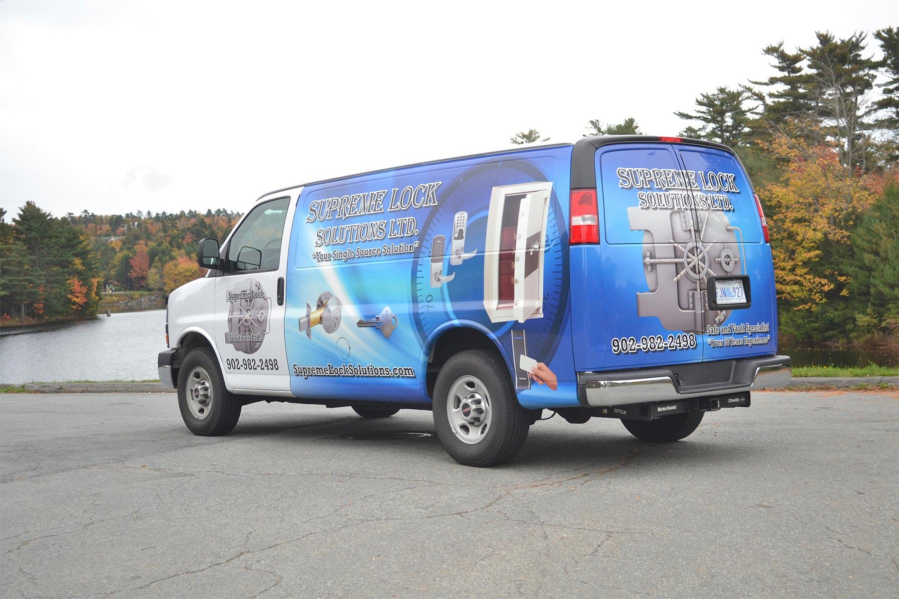 Supreme Lock Solutions Van