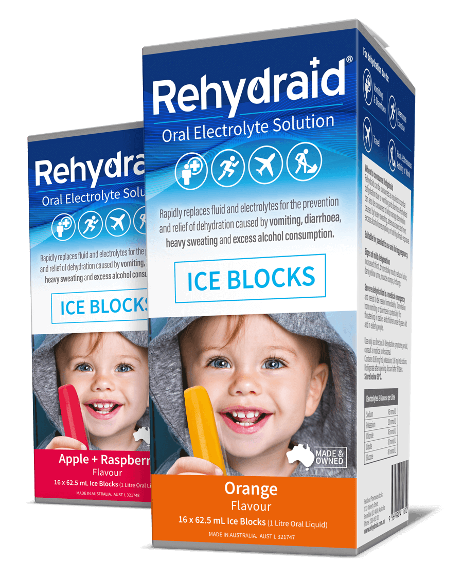 Rehydraid Ice Blocks