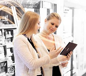 Den smarten Zugang zu quantitativen und qualitativen Kundenanalysen und Marktdaten ermöglicht SIG Sales.