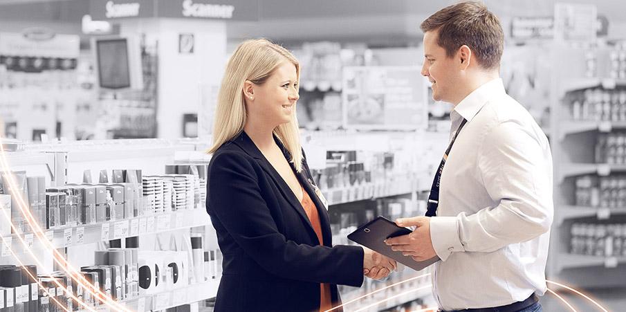 Das gesamte SIG Sales Teams arbeitet gemeinsam mit seinen Kunden auf einer gemeinsamen Datenbasis in Sales 360.